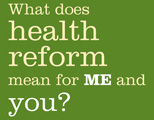 health care reform Maine outreach campaign logo